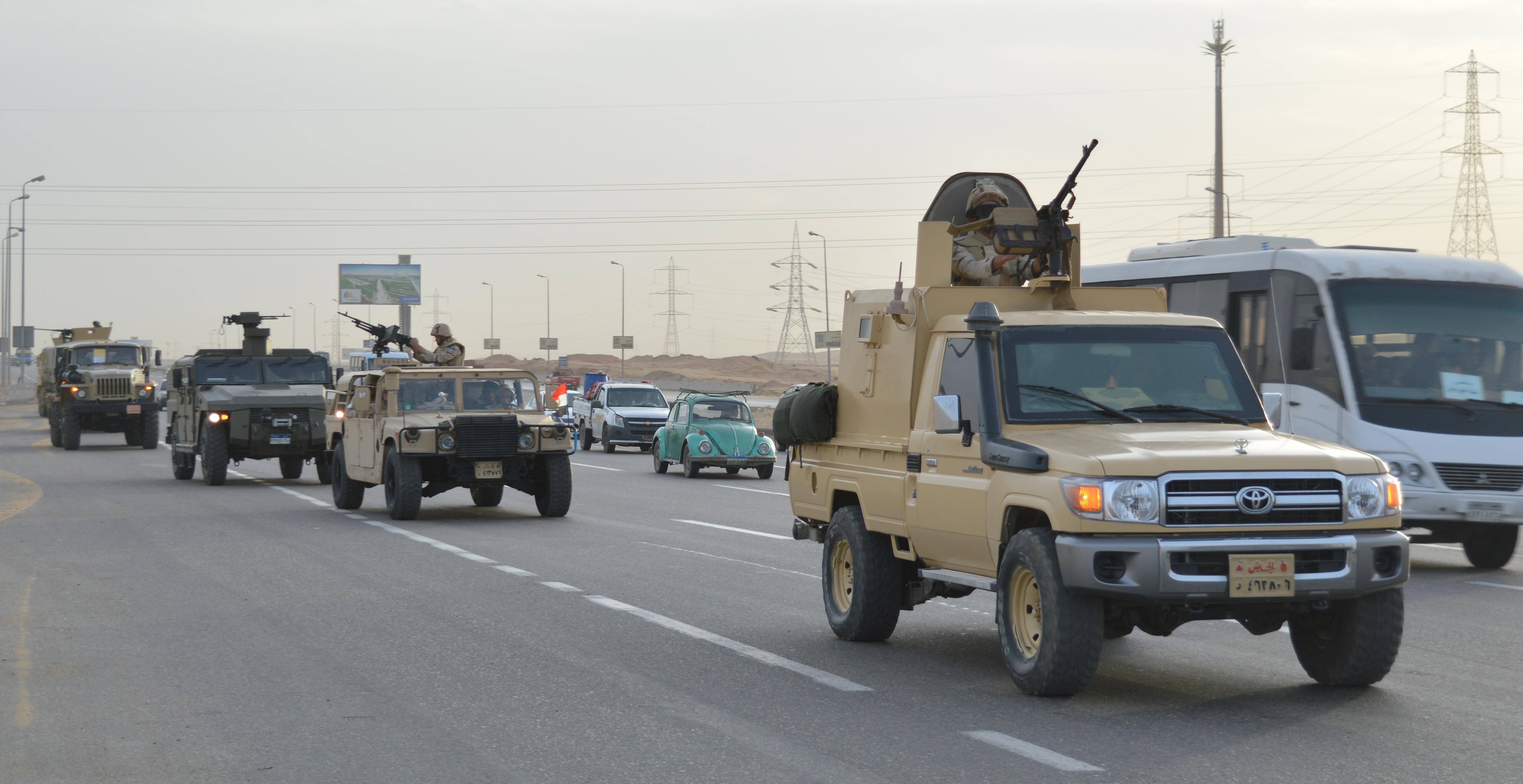 الأسلحة المشاركة فى العملية الشاملة سيناء 2018 (3)
