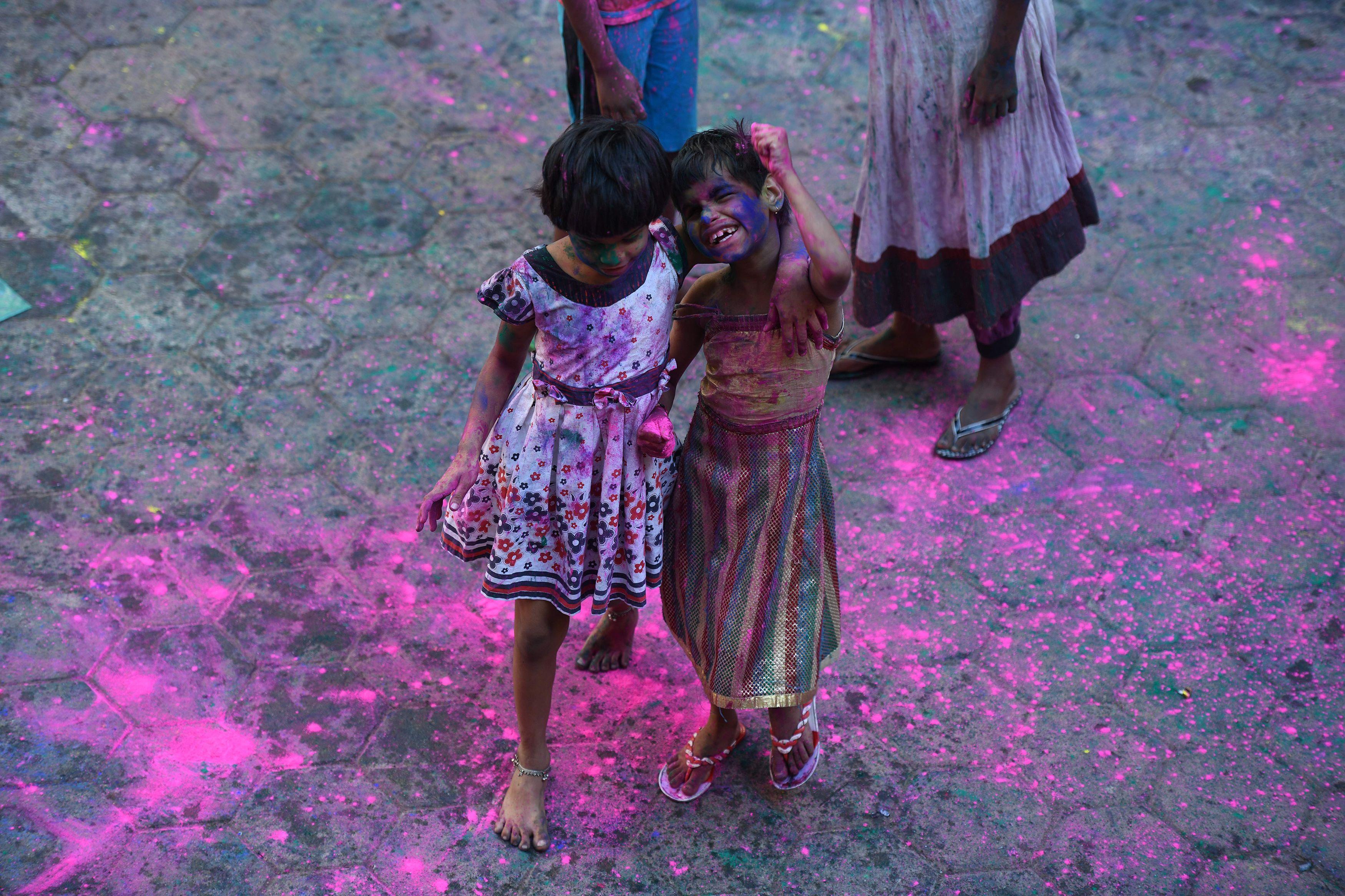 مهرجان الالوان فى الهند