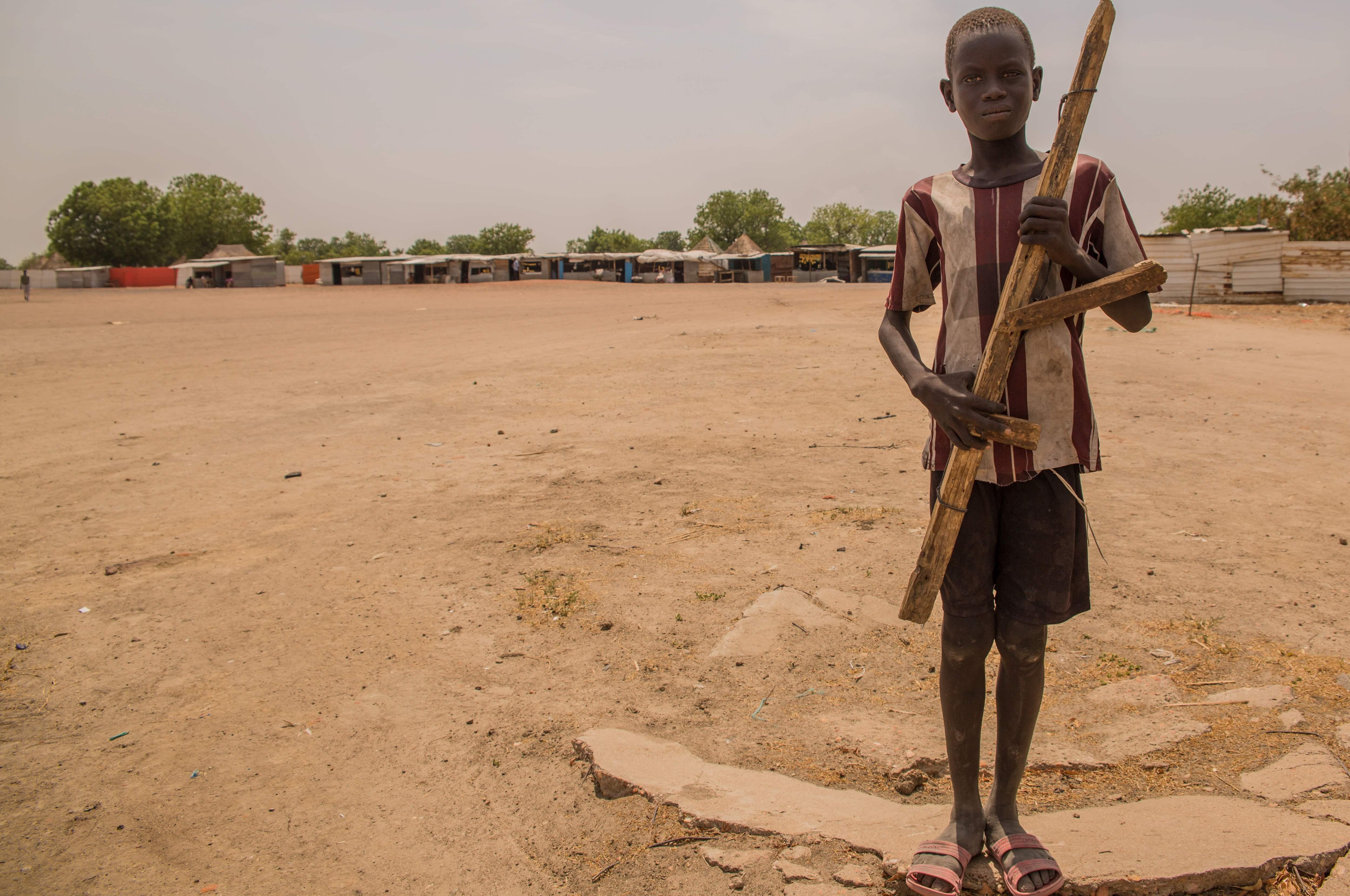 بلدة لير بجنوب السودان تتحول إلى مدينة أشباح بسبب المجاعة