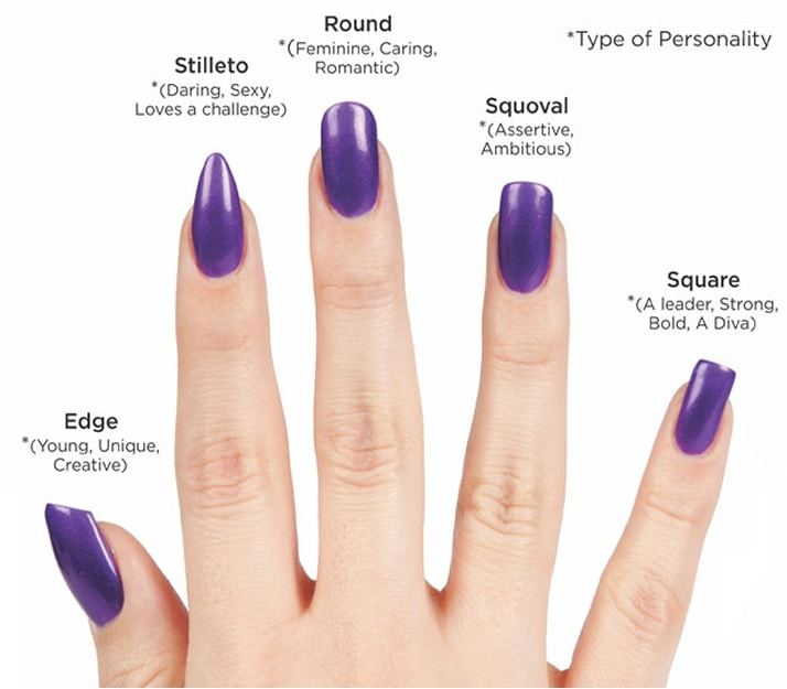 - Top 20 Squoval Nail Designs To Redefine Your Personality