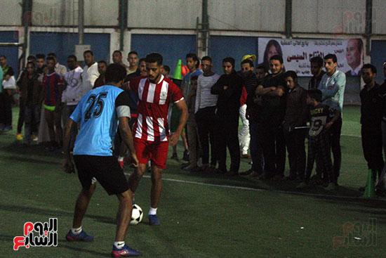 فعاليات دورة كأس الرئيس عبد الفتاح السيسى بمركز شباب منشية ناصر (15)