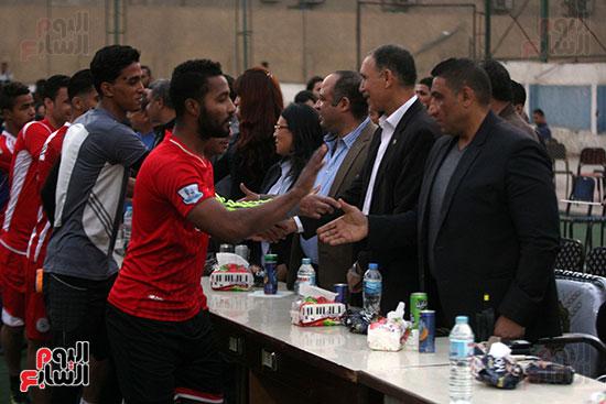 فعاليات دورة كأس الرئيس عبد الفتاح السيسى بمركز شباب منشية ناصر (9)
