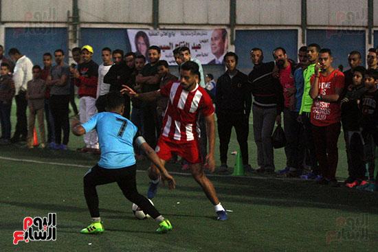 فعاليات دورة كأس الرئيس عبد الفتاح السيسى بمركز شباب منشية ناصر (14)