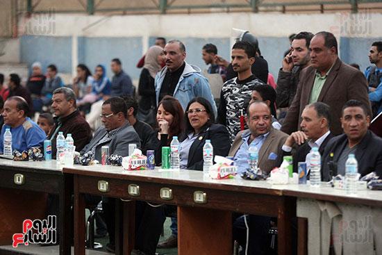 فعاليات دورة كأس الرئيس عبد الفتاح السيسى بمركز شباب منشية ناصر (5)