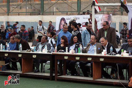 فعاليات دورة كأس الرئيس عبد الفتاح السيسى بمركز شباب منشية ناصر (4)