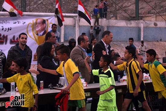 فعاليات دورة كأس الرئيس عبد الفتاح السيسى بمركز شباب منشية ناصر (8)