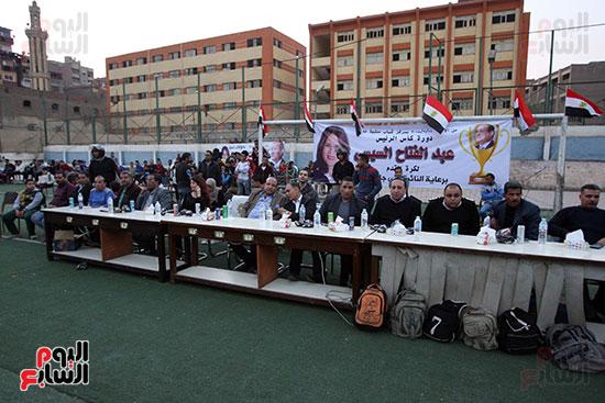 فعاليات دورة كأس الرئيس عبد الفتاح السيسى بمركز شباب منشية ناصر (16)