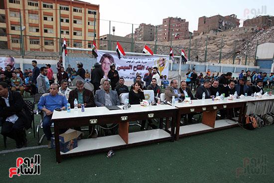 فعاليات دورة كأس الرئيس عبد الفتاح السيسى بمركز شباب منشية ناصر (1)