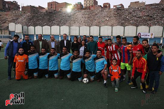 فعاليات دورة كأس الرئيس عبد الفتاح السيسى بمركز شباب منشية ناصر (11)