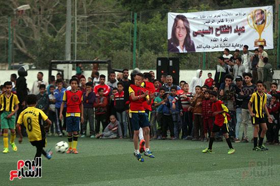 فعاليات دورة كأس الرئيس عبد الفتاح السيسى بمركز شباب منشية ناصر (6)