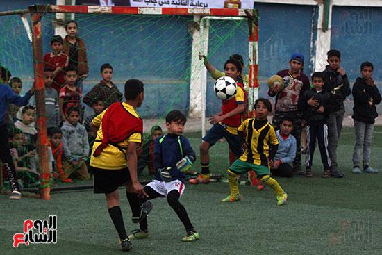 فعاليات دورة كأس الرئيس عبد الفتاح السيسى بمركز شباب منشية ناصر (3)