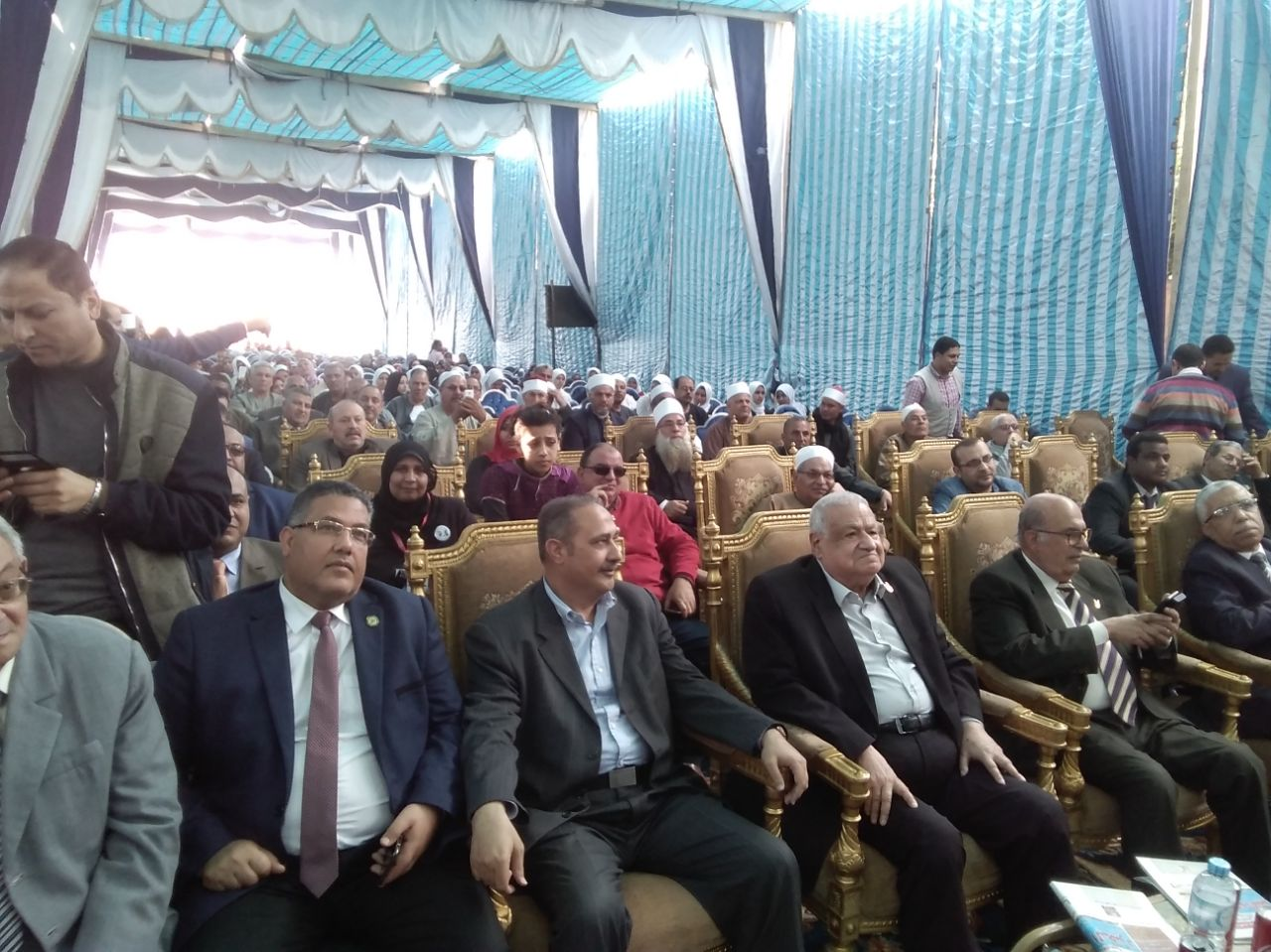 3 جانب من مؤتمر حماة الوطن بالبحيرة