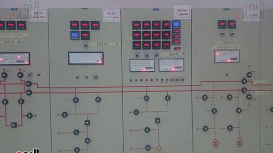 أحد أجهزة  التحكم بالمحطة