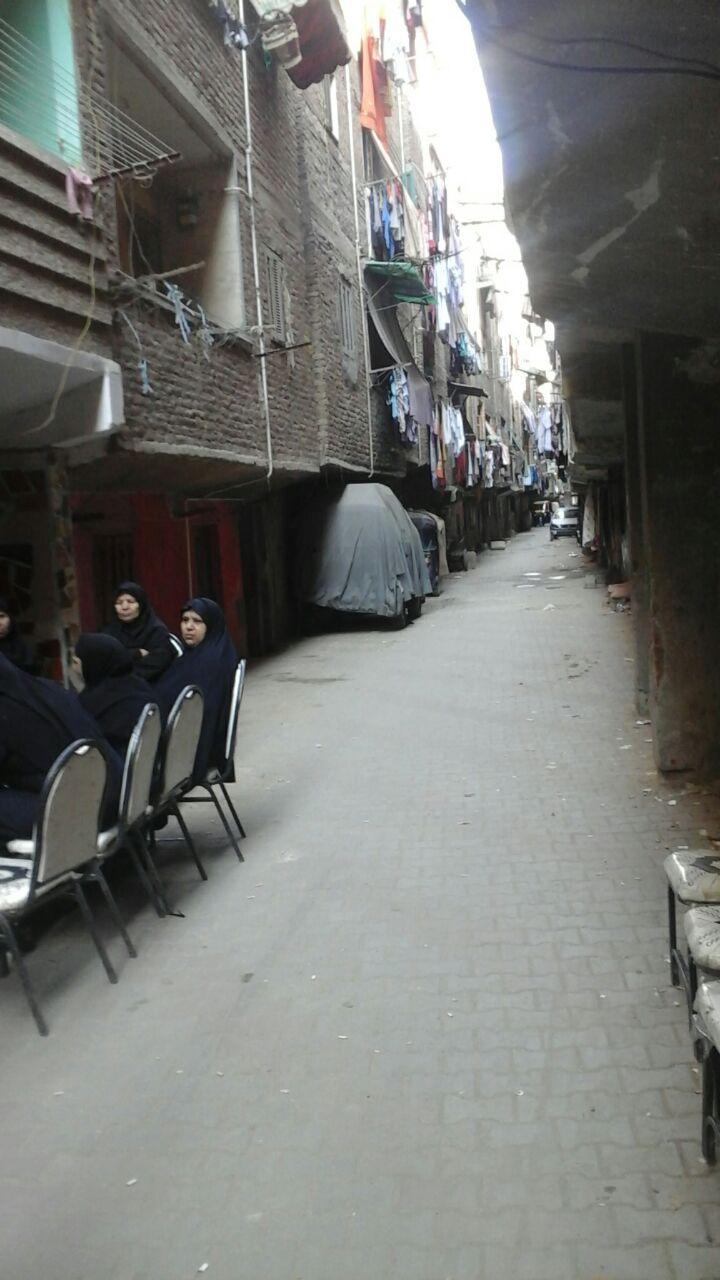 الشارع الذى شهد الجريمة يتميز بالهدوء