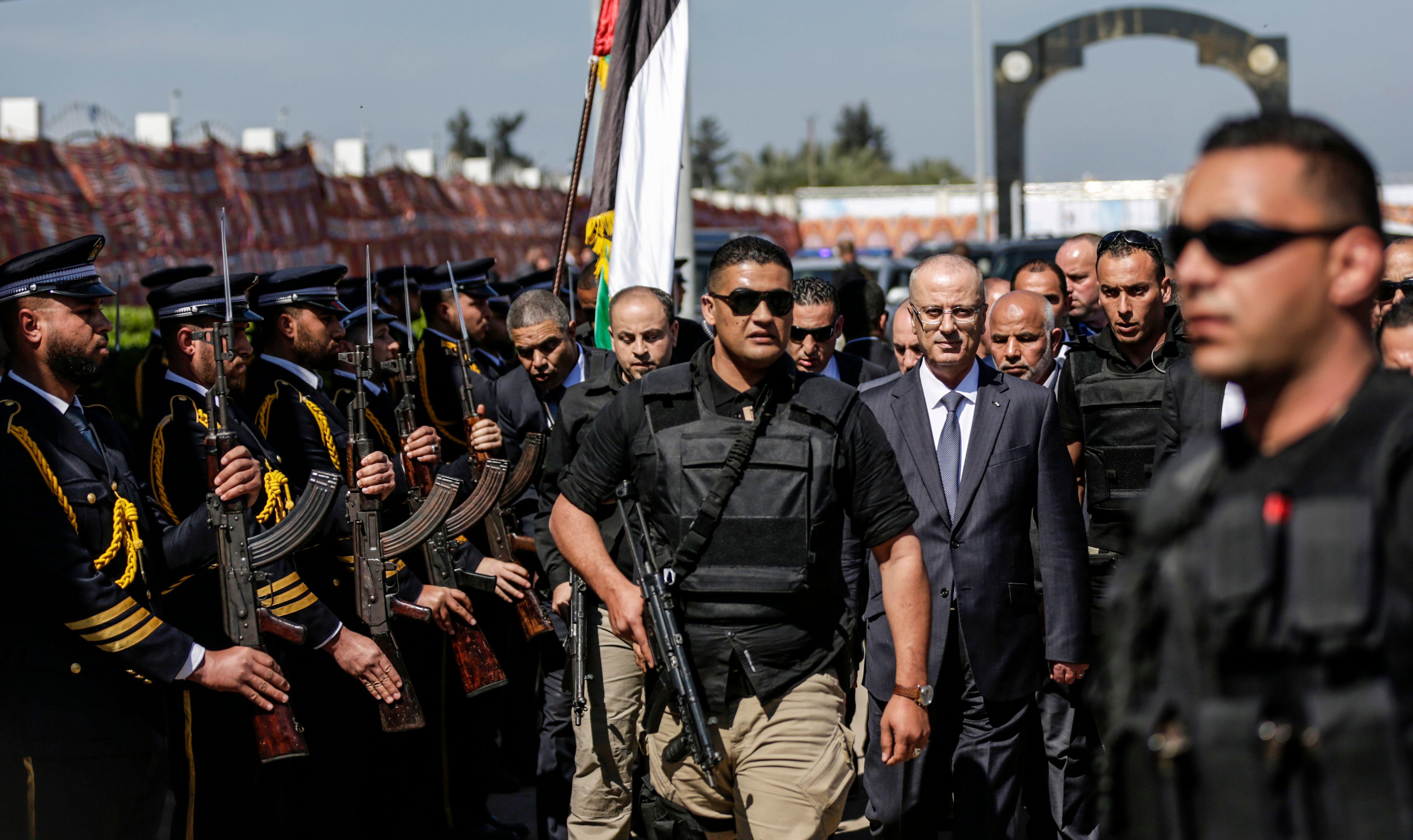رئيس الوزراء الفلسطينى فى قطاع غزة