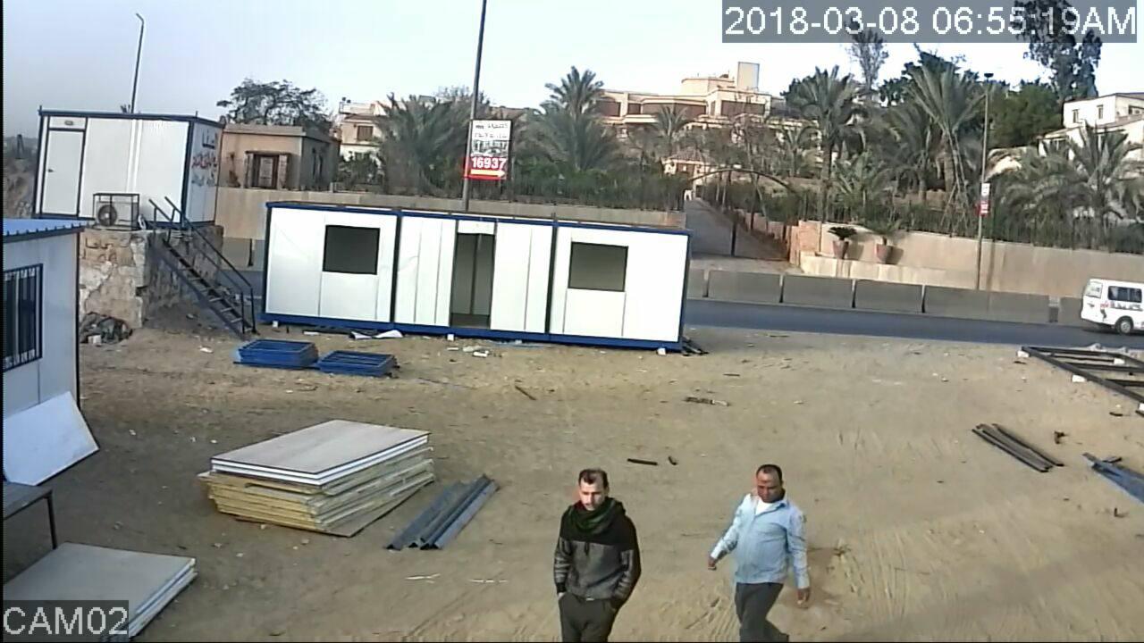 المتهم بسرقة مصنع فى ابو رواش  (5)