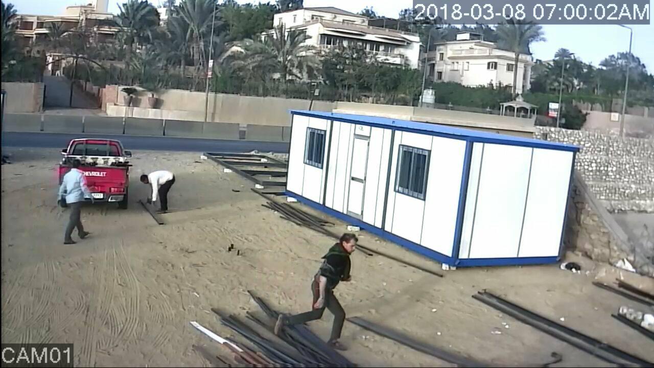 المتهم بسرقة مصنع فى ابو رواش  (6)