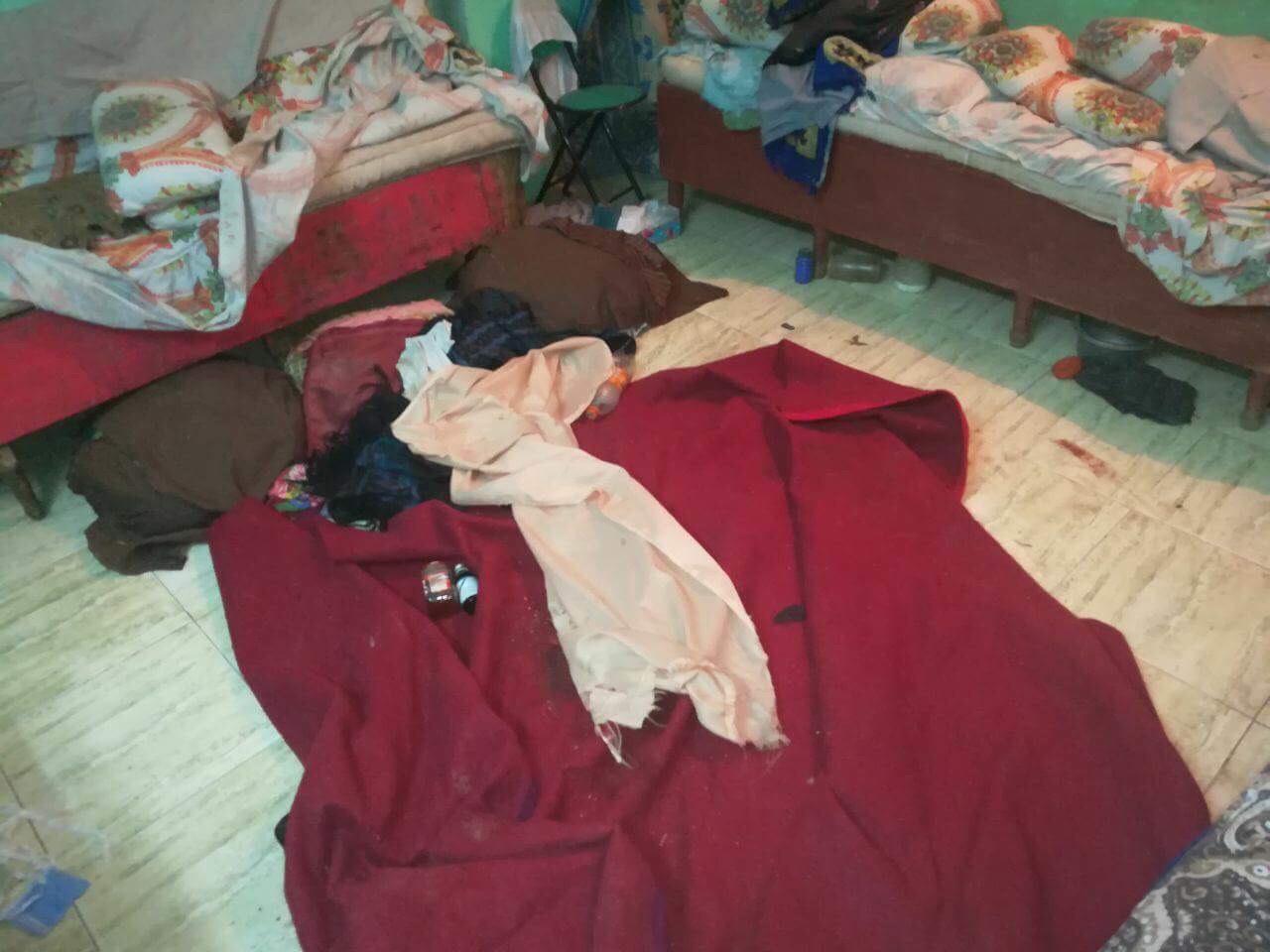 الغرفة التى شهدت الجريمة