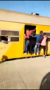 جانب من القطار