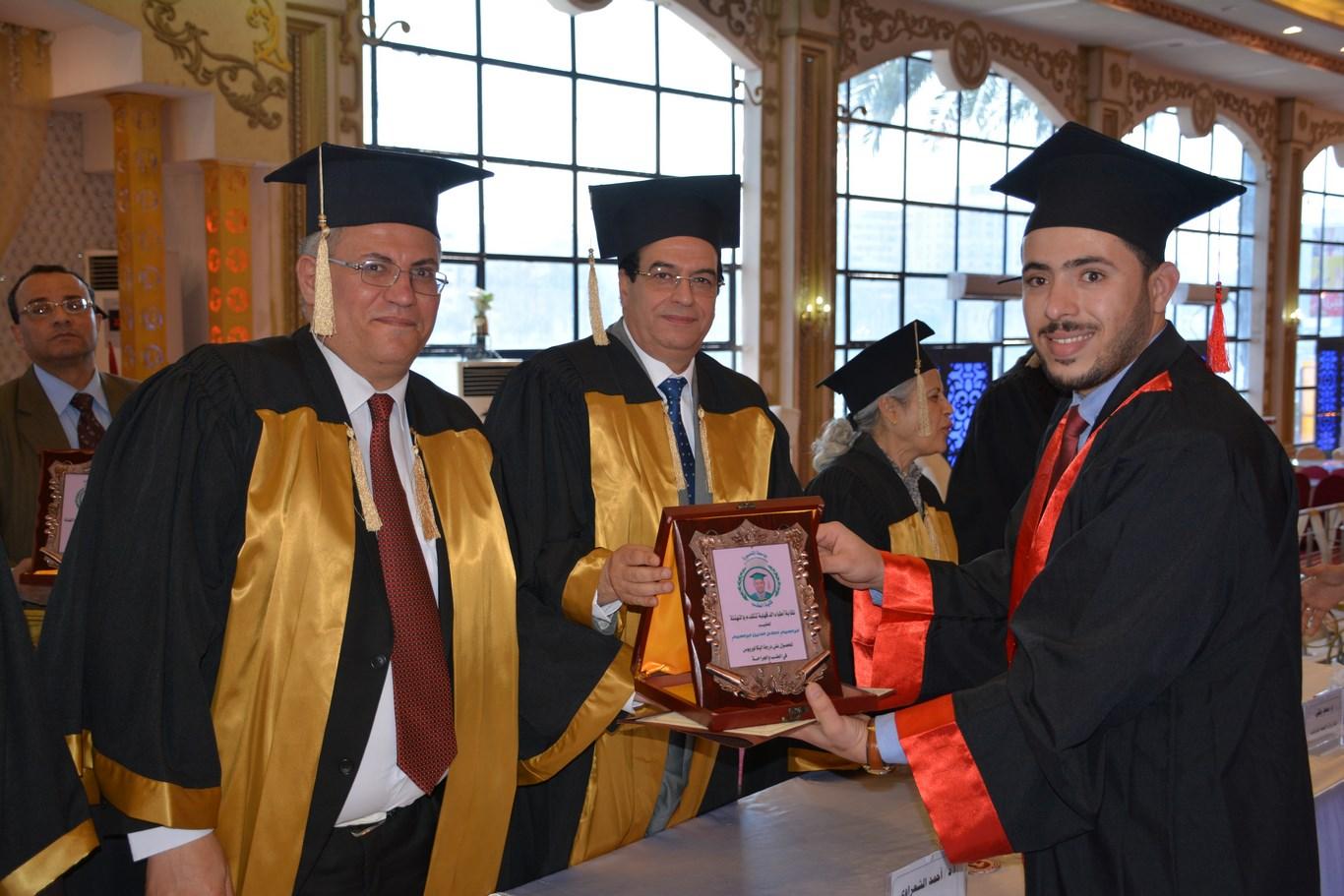 حفل تخريج طلاب الدفعة 49 طب المنصورة  (9)