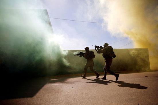 جنود-فى-التدريبات-العسكرية