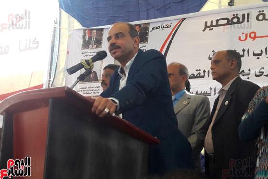 كبار العائلات بسوهاج والبحر الأحمر يدعمون الرئيس