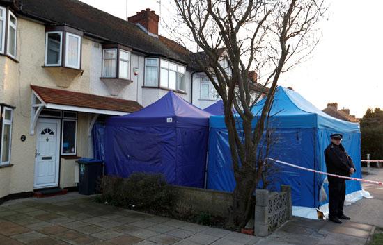 منزل جثة الروسى المقتول فى لندن