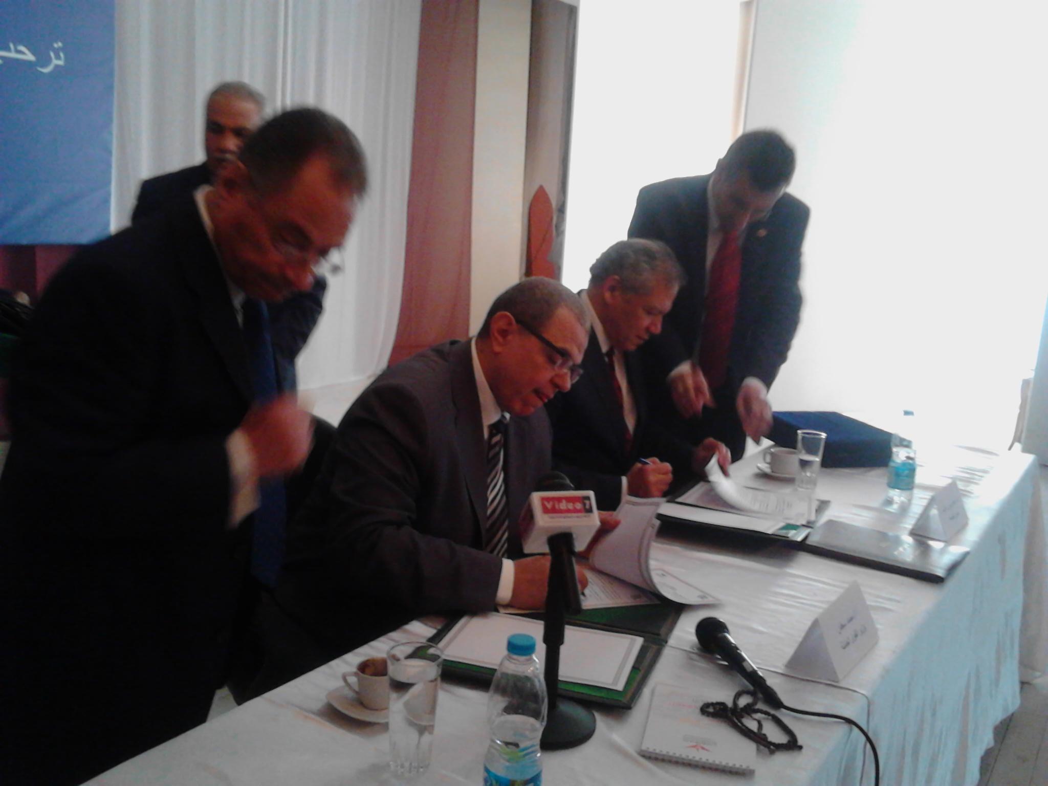 توقيع بروتوكولى تعاون بين القوى العاملة وجامعة هوليوبوليس  (5)