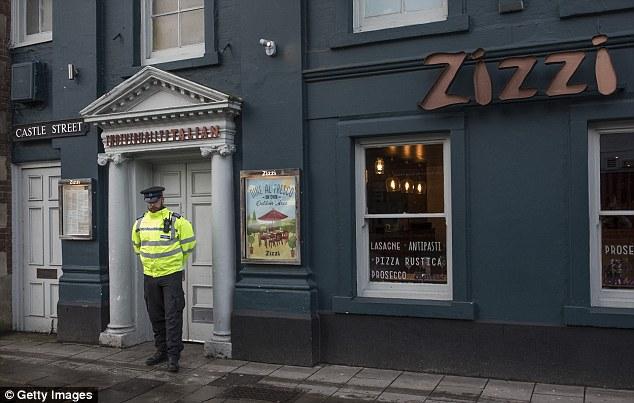 الشرطة البريطانية تغلق المطعم الذى ألقيت فيه المادة