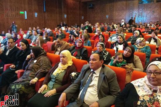 السيدات تشارك بقوة فى المؤتمر