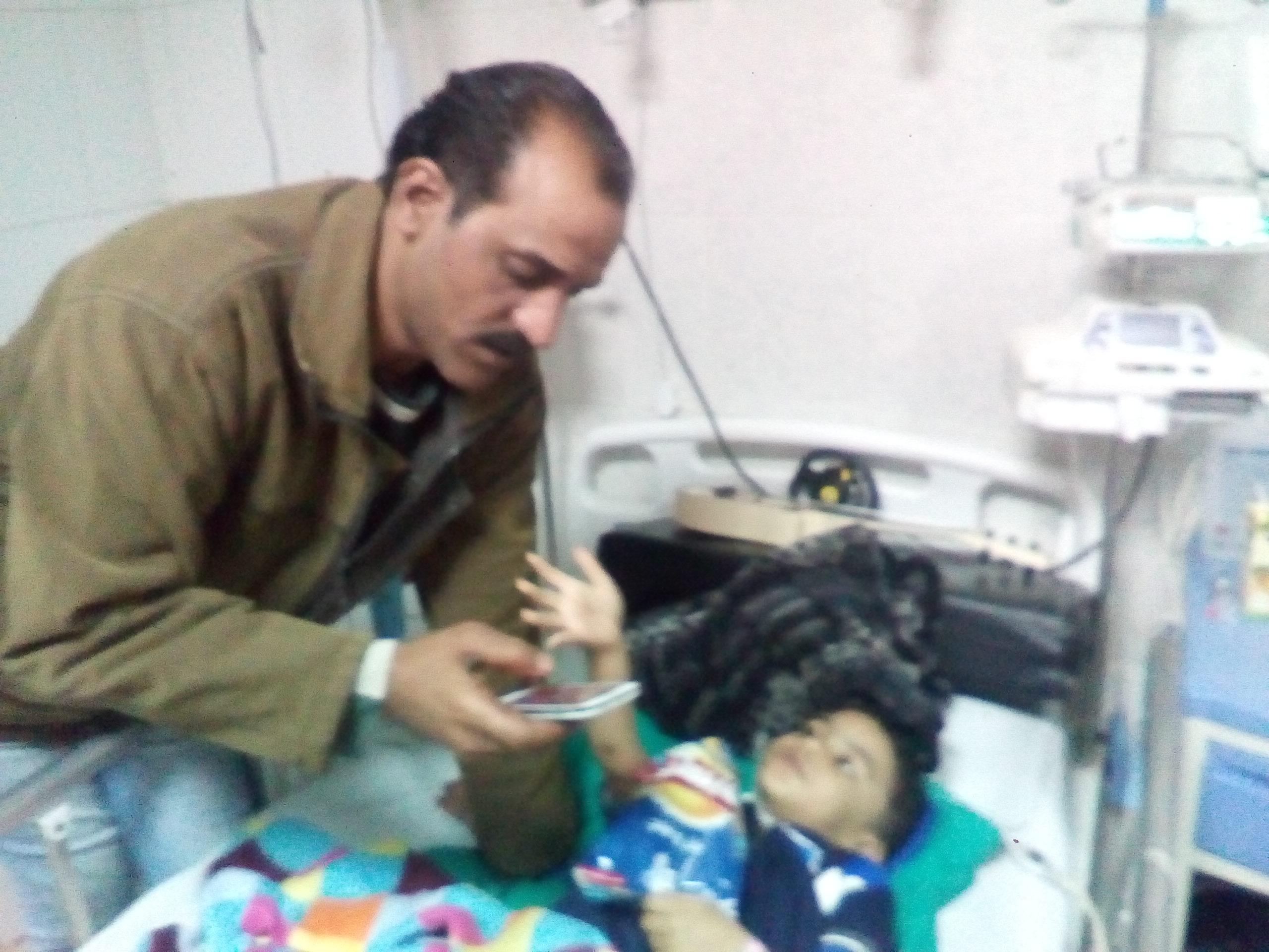 جانب من الإصابات فى الطفل