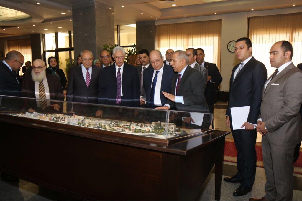 برتوكول تعاون بين مجلس الدولة والأكاديمية العربية (5)