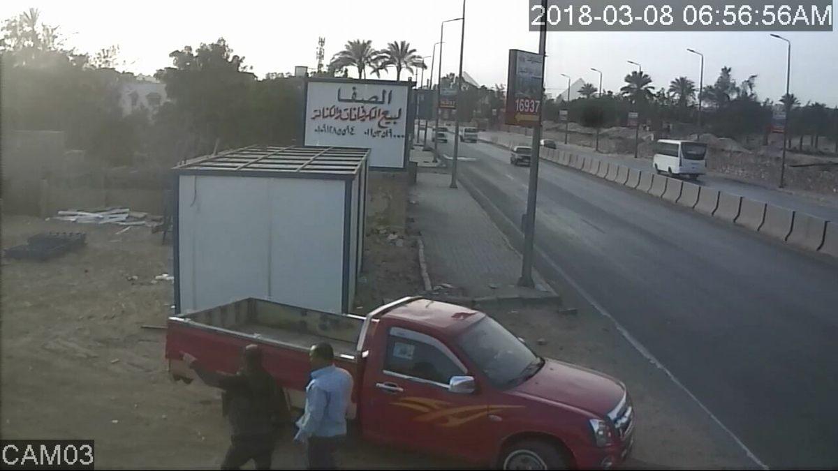 المتهم بسرقة مصنع فى ابو رواش  (4)