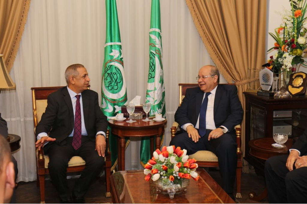 برتوكول تعاون بين مجلس الدولة والأكاديمية العربية (1)