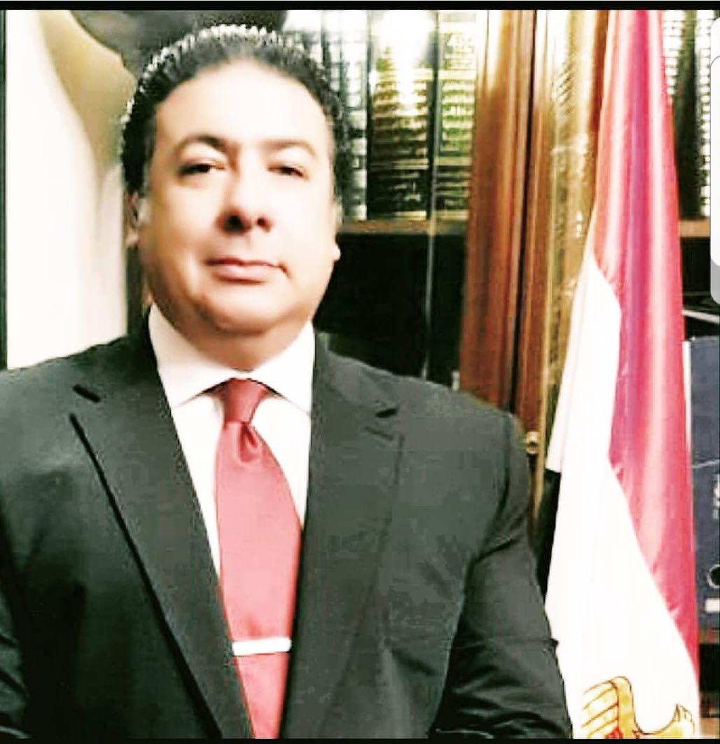 المستشار  سامح عبد الحكم رئيس محكمة الإستئناف
