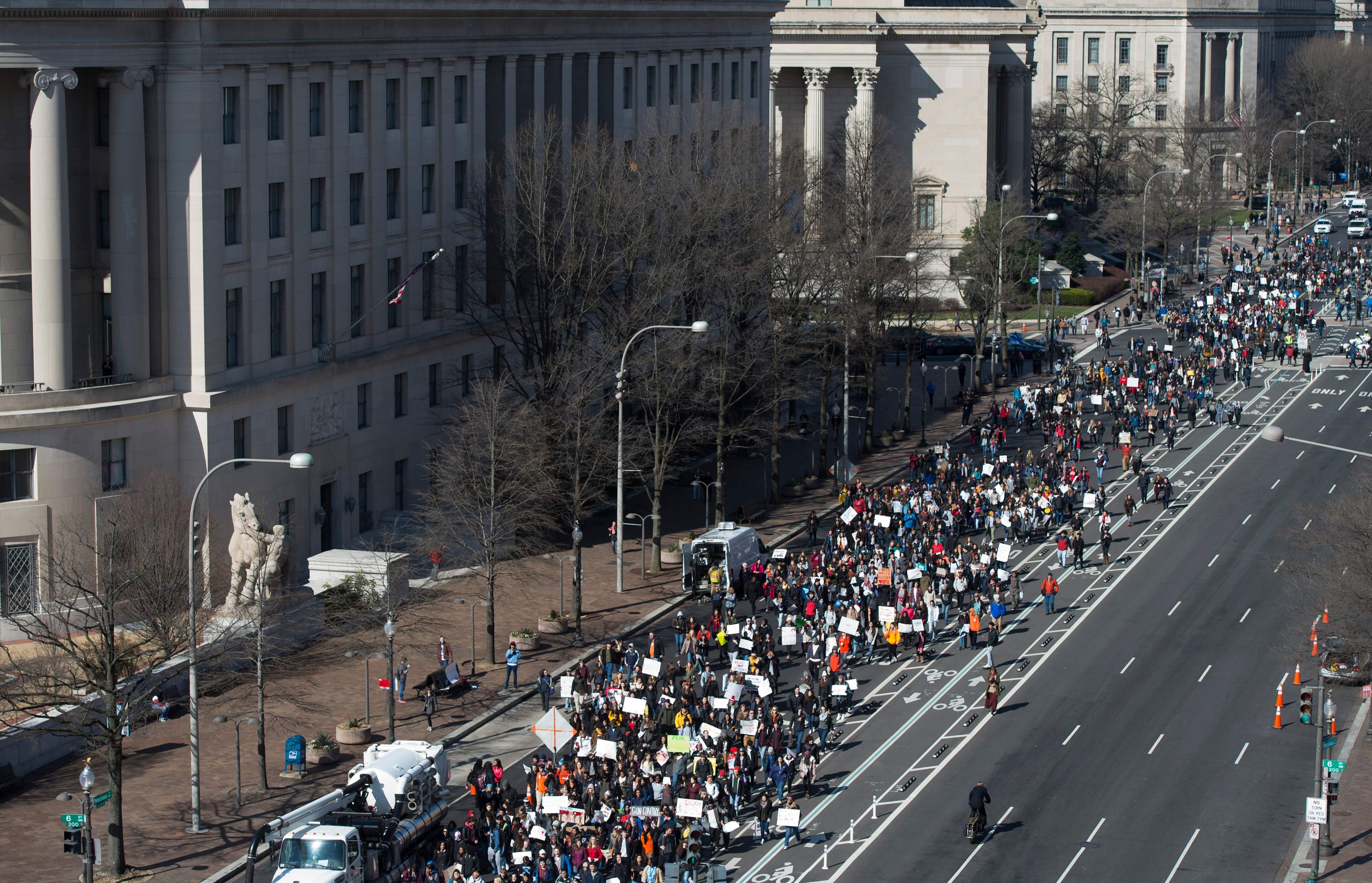 مسيرات طلابية