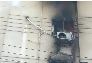 حريق بشقة