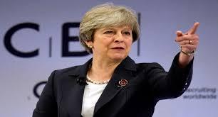 رئيسة الوزراء البريطانية