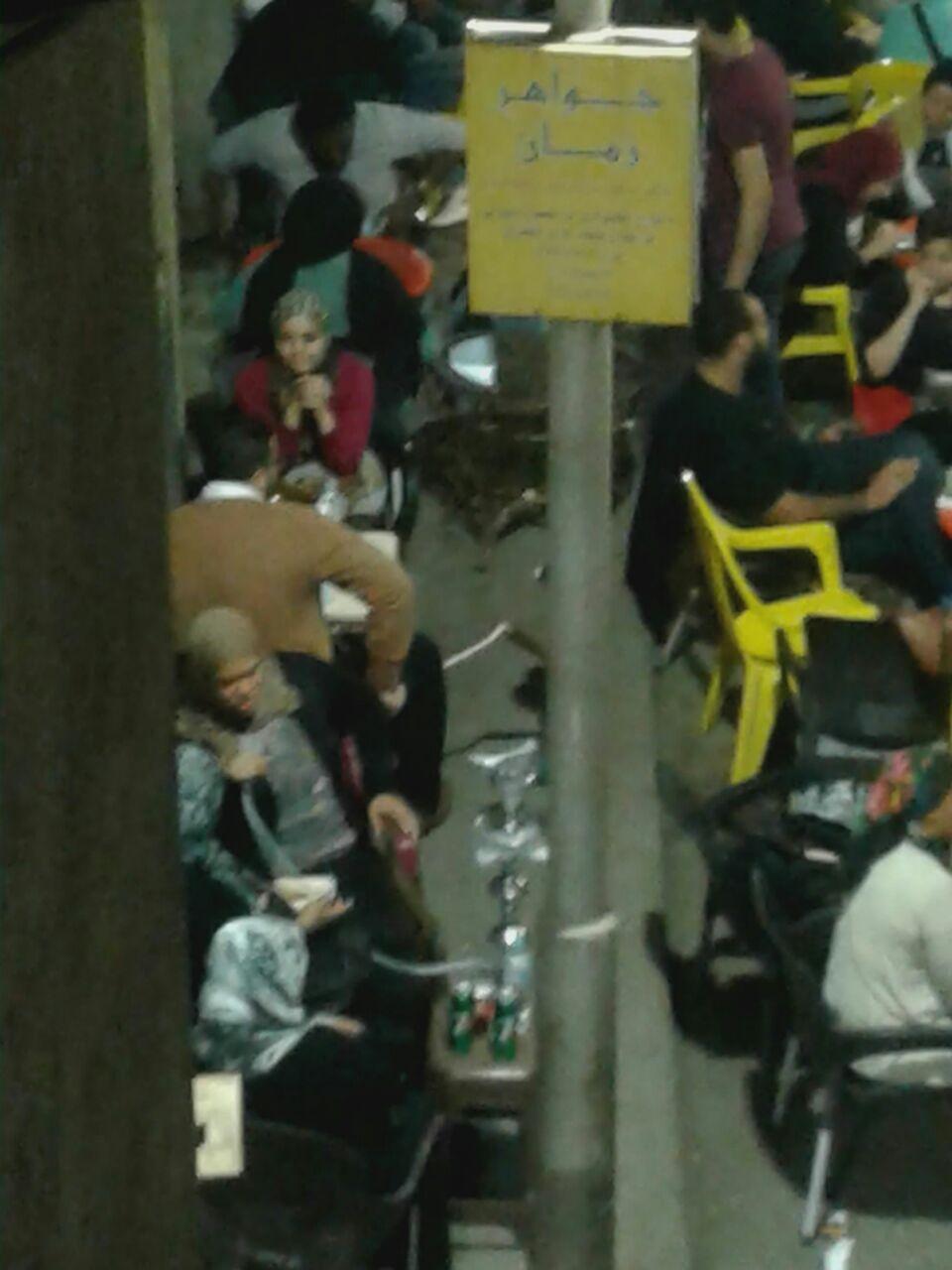 المقهى فى شارع الخضراوى