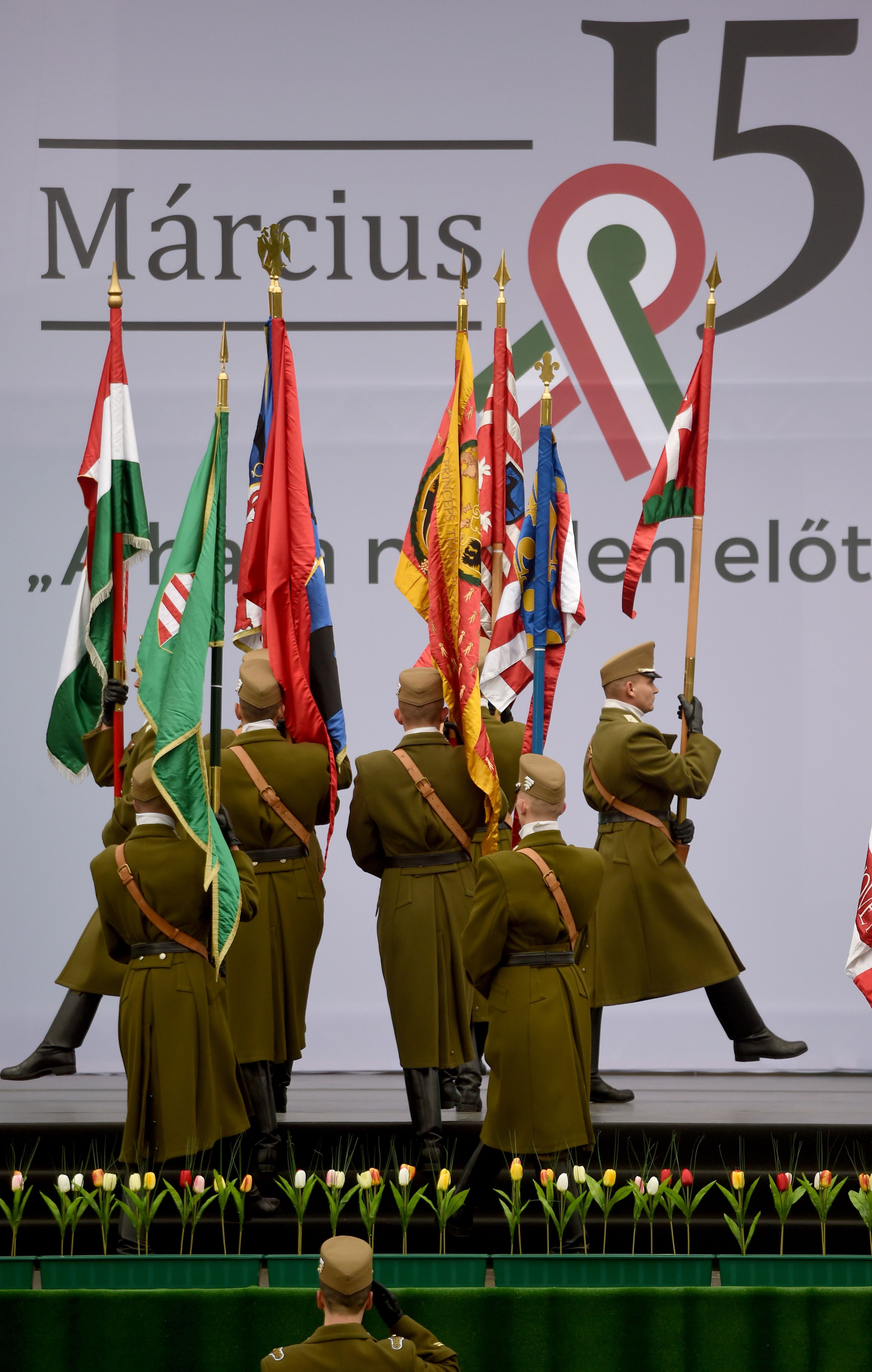 احتفالات المجر بعيد الاستقلال الـ170