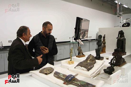 اليوم-السابع-يرصد-اعمال-الترميم-داخل-مركز-المتحف-المصرى-الكبير-(2)