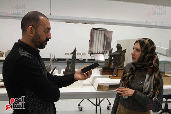اليوم-السابع-يرصد-اعمال-الترميم-داخل-مركز-المتحف-المصرى-الكبير-(4)