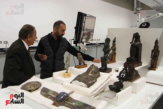 اليوم-السابع-يرصد-اعمال-الترميم-داخل-مركز-المتحف-المصرى-الكبير-(3)