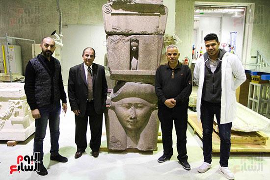 اليوم-السابع-يرصد-اعمال-الترميم-داخل-مركز-المتحف-المصرى-الكبير-(1)