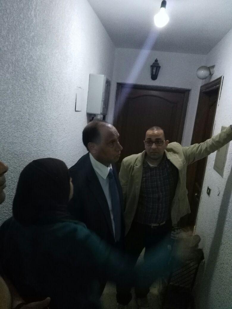 جانب من جولة رئيس شركة كهرباء شمال القاهرة