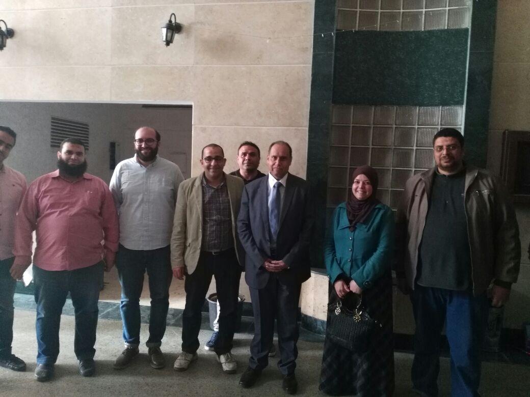 جولة رئيس شركة كهرباء شمال القاهرة لتفقد تركيب العدادات الذكية