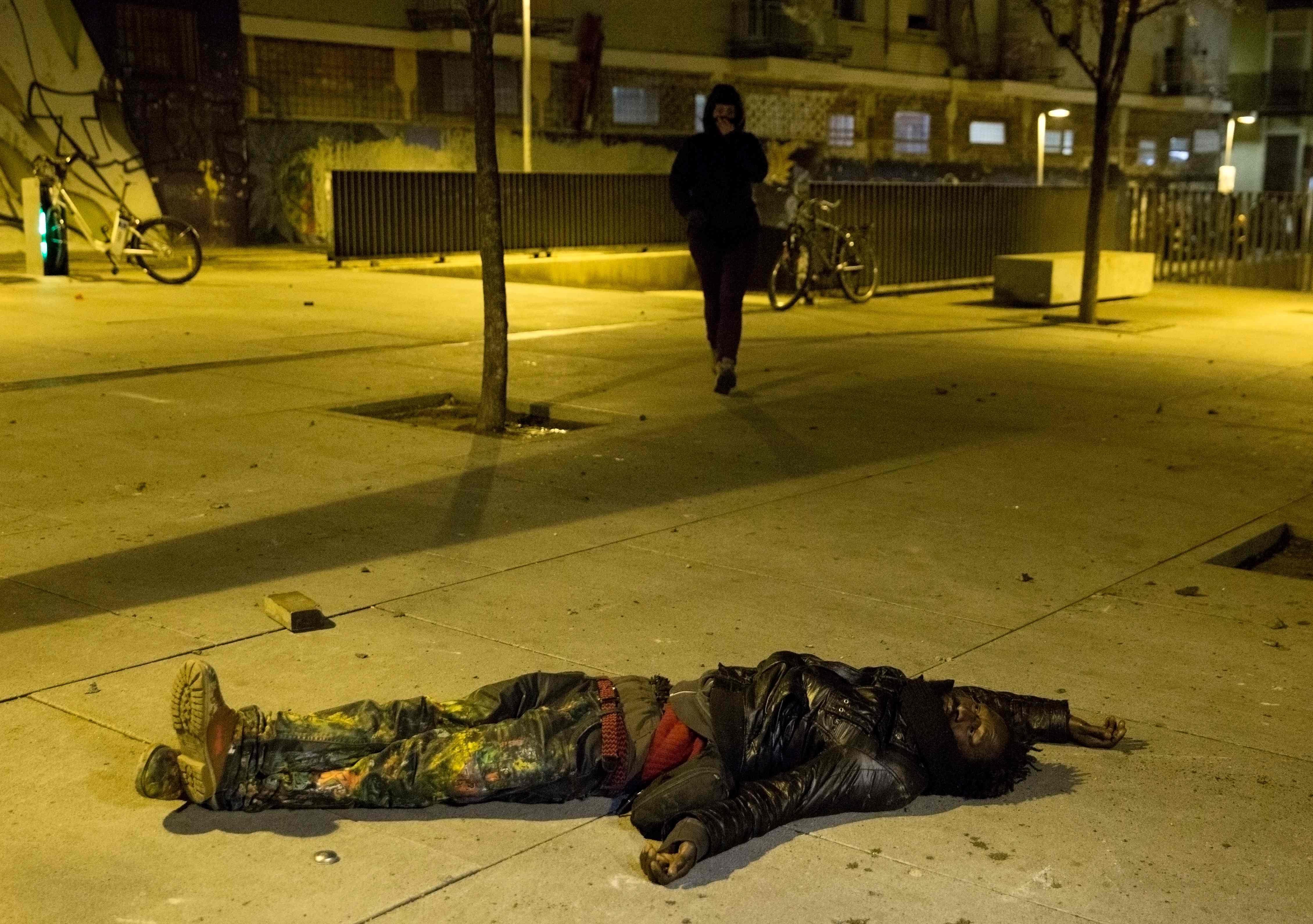 الشاب السنغالى الذى لقى توفى