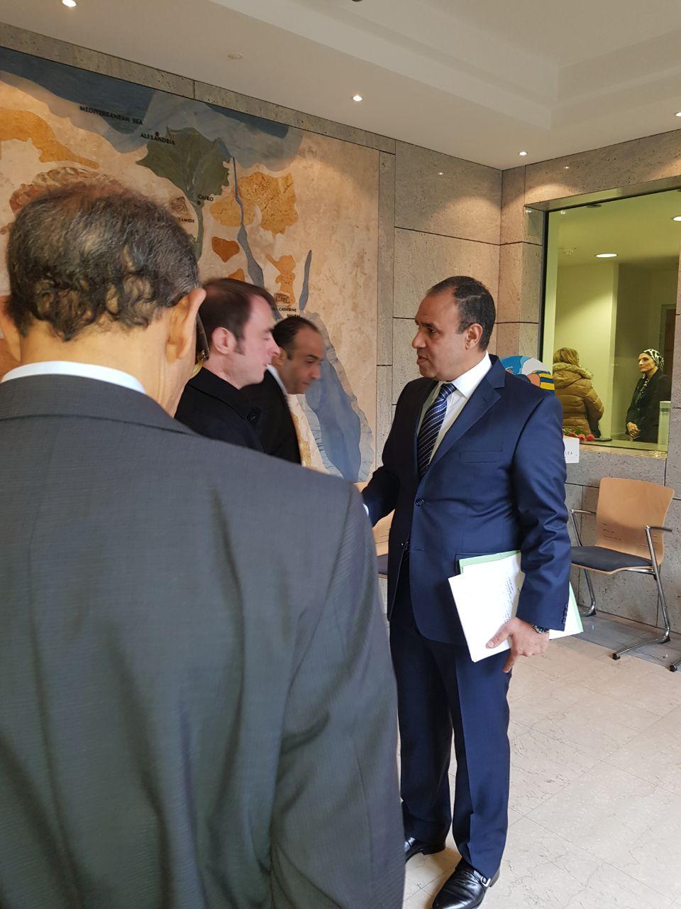 سفير مصر فى ألمانيا