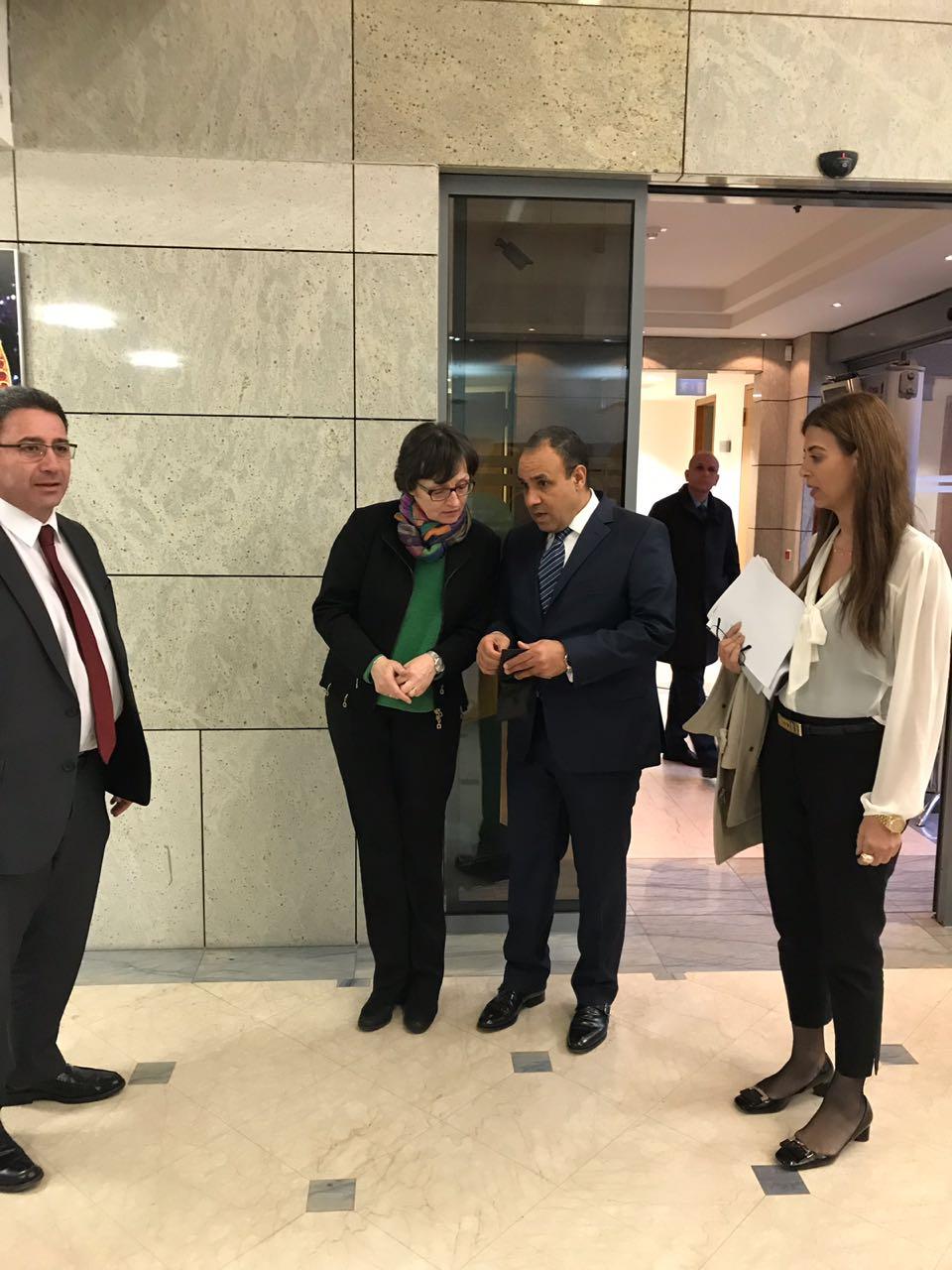السفير بدر عبد العاطى سفير مصر فى برلين