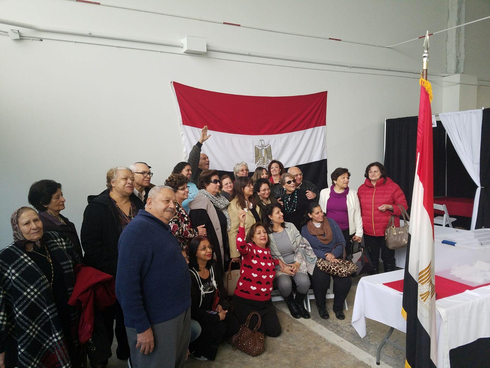اقبال من المصريين فى لوس انجلوس